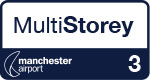 Manchester Airport Multi-Storey Short Stay Terminal 3 logo
