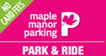 Southampton Maple Manor Park and Ride logo
