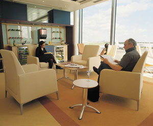 Wentworth Servisair lounge - North terminal