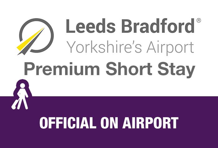 Leeds Bradford Airport Premium Short Stay logo