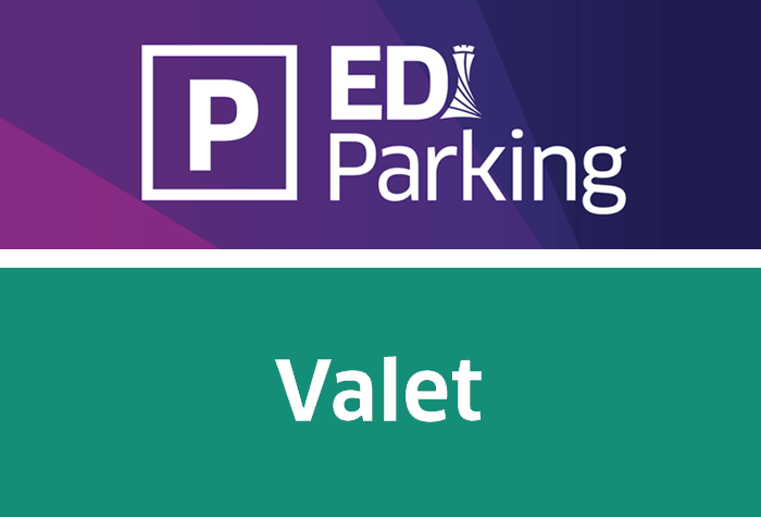 EDI Parking Official Business Valet logo