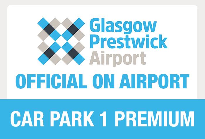 Glasgow Prestwick Car Park 1 Premium logo