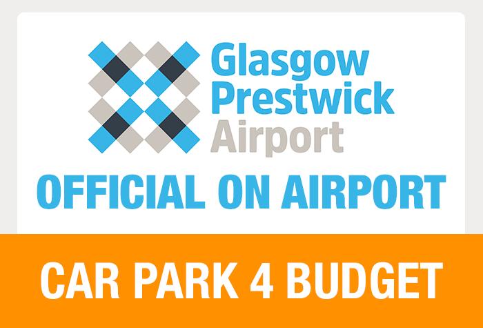 Glasgow Prestwick Car Park 4 Budget logo