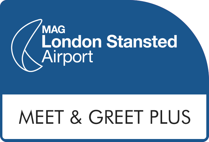 Stansted Official Meet and Greet Plus logo