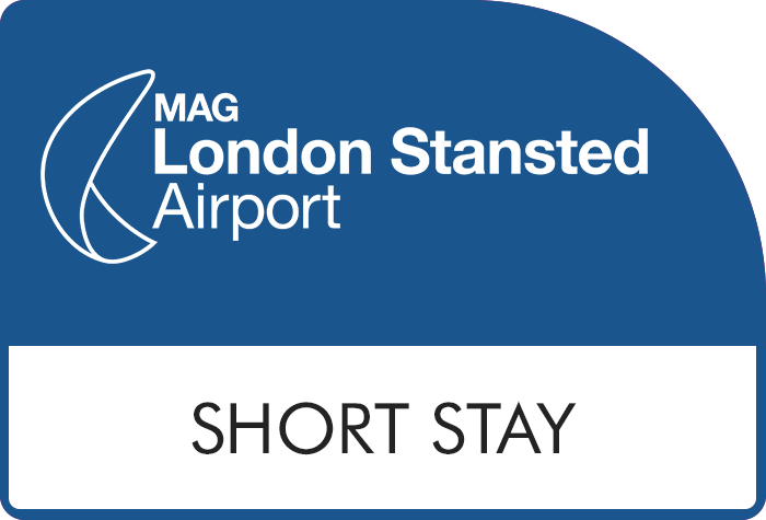 Stansted Official Short Stay Green logo