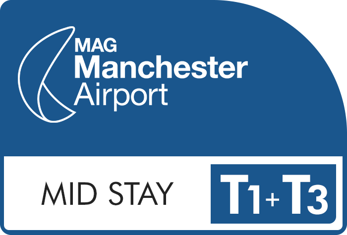 Manchester Airport Short Stay Terminal 3 logo