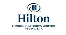 Hilton Heathrow Terminal 5 logo