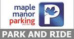 Southend Maple Manor Park and Ride logo