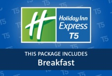 LHR Holiday Inn Express T5 with breakfast