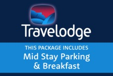 STN Travelodge with Mid Stay and breakfast