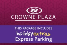 Crowne Plaza HX parking