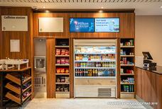 lhr hilton garden inn T2 snack shop