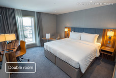 lhr hilton garden inn T2 double room
