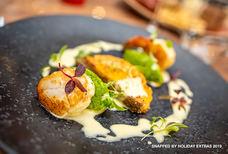 lhr hilton garden inn T2 delicious food