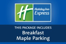 STN Holiday Inn Express with Maple parking