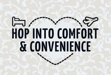 Hop into comfort