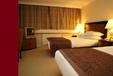BRIT AIRPORT HOTEL BED