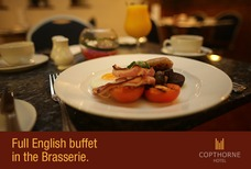 Full English buffet in the Brasserie.