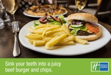 Holiday Inn Express, Birmingham NEC burger