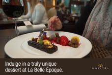 LHR Sofitel La Belle Epoque Dessert