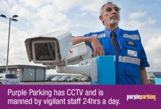 Purple Parking LGW staff