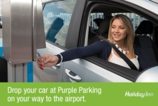 Holiday Inn Worth Purple Parking