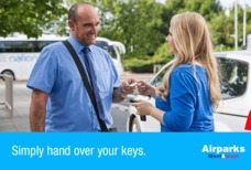 Airparks Meet and Greet Handing over keys