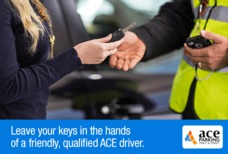 ACE Meet and Greet Handing keys