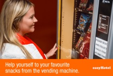 easyHotel Vending machine