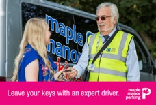 Maple Manor Park and Ride Handing keys