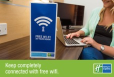 Holiday Inn Express Wifi in room