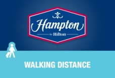 Hampton walking distance