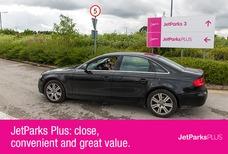 Jet Parks Plus Car park signage