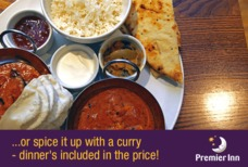 LGW Premier Inn North with dinner and breakfast