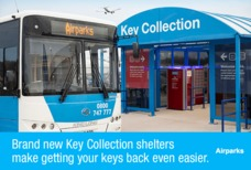 Key collection shelter