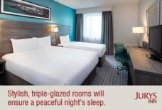 EMA Jurys Inn Bedroom