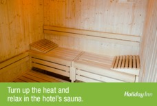 NCL Holiday Inn Sauna
