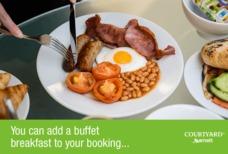 LGW Courtyard Buffet Breakfast