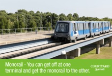 LGW Courtyard monorail