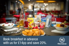 LHR Sheraton Skyline Breakfast