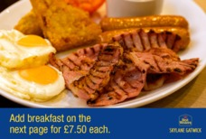 LGW Best Western Breakfast 1