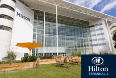LHR Hilton T4 with logo