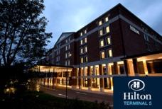 LHR Hilton T5 with logo