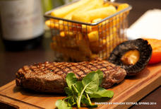 LHR Doubletree Steak