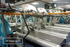 LhR Hyatt Place gym