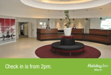 LGW Holiday Inn Worth reception