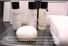 MAN Crowne Plaza Club rooms toiletries