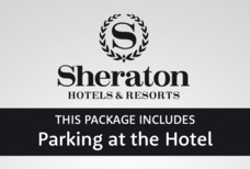 LHR Sheraton with hotel parking front tile