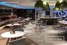 LHR Novotel restaurant