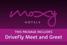 LHR Moxy with DriveFly meet and greet